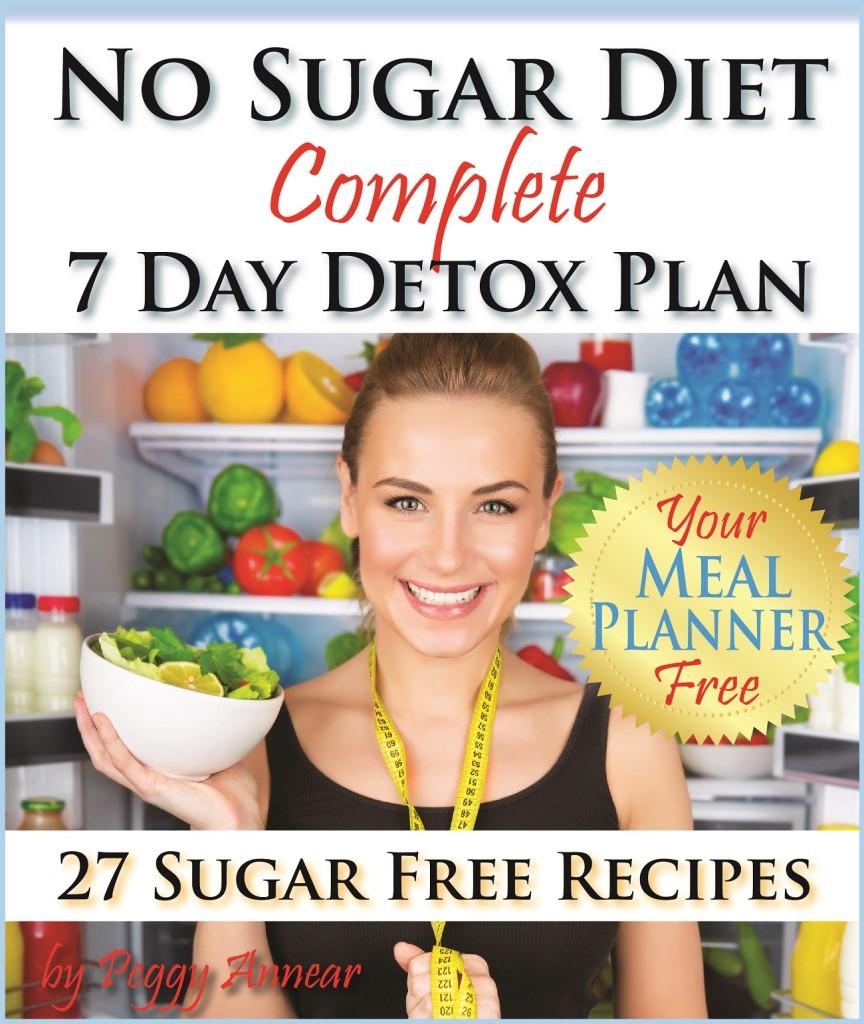 No Sugar Diet 7 Day Sugar Detox Cover